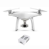 Phantom 4 with Extra Battery