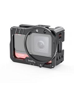 SmallRig Vlogging Cage & 52mm Filter Adapter for Insta360 ONE R 4K Edition 2901
