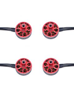 EaglePower SA2306 2888KV 3-4S Brushless Motors (x4) Red for FPV Racing Drone
