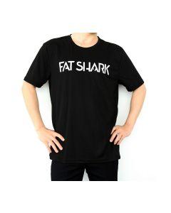 Fat Shark Black T-Shirt (Size L)