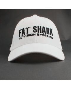 Fat Shark White Ball Cap