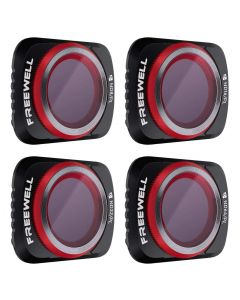 Freewell 4-pack Bright Day 4K Series ND/PL Filter Set for Mavic Air 2