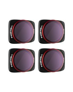 Freewell 4-pack Bright Day Series Filters for DJI  Air 2S (ND8/PL ND16/PL ND32/PL ND64/PL)