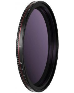Freewell Standard Day 72mm Variable ND Filter (2 to 5 Stops) for DSLR Camera