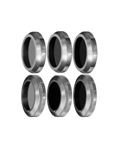 Freewell 6-pack Budget Filter Kit for Mavic 2 Zoom (ND4/8/16/32-PL/64-PL/CPL)