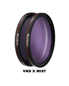Freewell 58mm VND X Mist Edition Filter Set All Day Series (2-5 & 6-9 Stop)