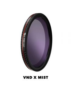 Freewell 62mm VND X Mist Edition Filter Bright Day Series (6-9 Stop)(Threaded)