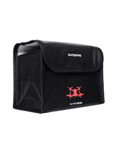 Sunnylife Li-Po Battery Safe Storage Bag for DJI FPV Drone (for 3 batteries)