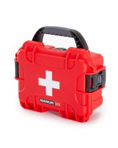 Nanuk Case 903 with First Aid Logo (Red)