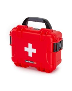 Nanuk Case 904 with First Aid Logo (Red)