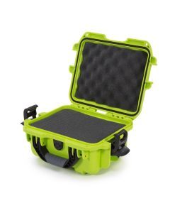 Nanuk 905 Case with Cubed Foam (Lime)