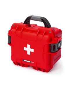 Nanuk 908 Case with First Aid Logo (Red)