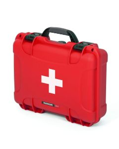 Nanuk Case 910 with First Aid Logo (Red)