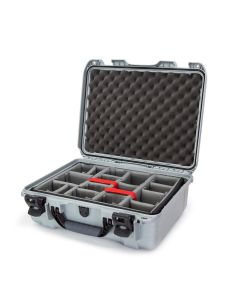 Nanuk 930 Case with Padded Divider (Silver)
