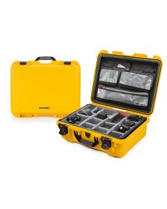 Nanuk 930 Pro Photo Case with Lid Organiser/Padded Divider (Yellow)