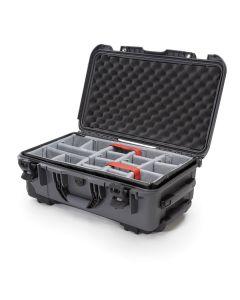 Nanuk 935 Case with Padded Divider (Graphite)
