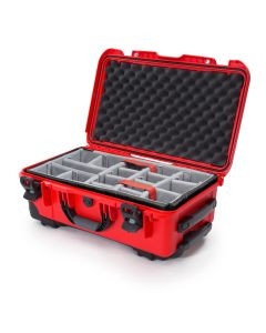 Nanuk 935 Case with Padded Divider (Red)