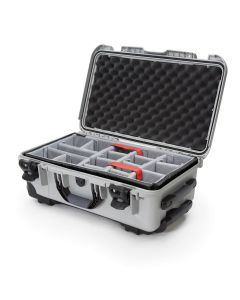 Nanuk 935 Case with Padded Divider (Silver)