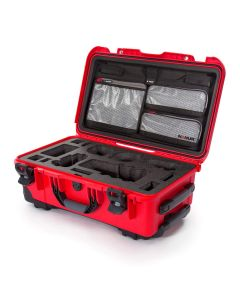 Nanuk 935 Case with Lid Organiser for Sony A7 (Red)