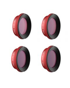 PGY Tech 4-pack PRO ND Filter Set for MAVIC AIR (ND8 ND16 ND32 ND64)