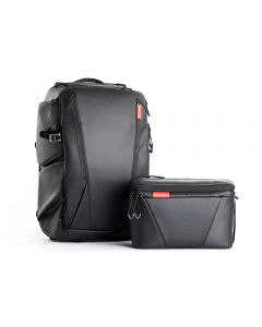 PGYTECH OneMo Backpack 25L + Shoulder Bag (Twilight Black)