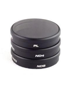 Polar Pro DJI Phantom 3 Pro/Adv/4K 3-Pack Filters (PL/ND4/ND8)