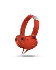 SONY MDRXB550APR Extra Bass Headset (Red)
