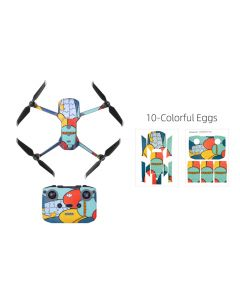 Sunnylife Protective PVC Stickers Skin for Mavic Air 2 (Colourful Eggs)
