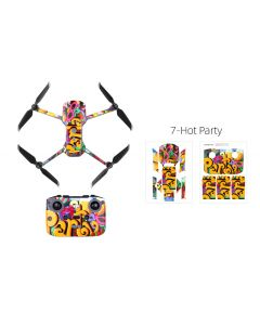 Sunnylife Protective PVC Stickers Skin for Mavic Air 2 (Hot Party)