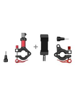 Sunnylife Aluminum Alloy Bike Seatpost Clamp + Phone Holder for Action Camera